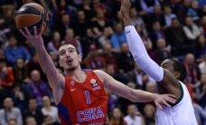 ULEB Eirolīgas apakšgrupas līderu divcīņā 'Unicaja' pieveic spēcīgo CSKA