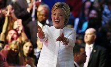 Cīņā par Balto namu Klintonei daudz vairāk naudas nekā Trampam