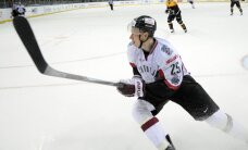 Latvijas hokejisti pagarinājumā piekāpjas Šveices izlasei