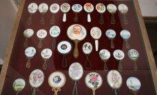 В Кулдиге проходит выставка старинных зеркал радиоведущей Илоны Яхимович