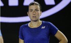 Sevastovai zaudējumi Trnavas ITF turnīra vienspēļu un dubultspēļu finālos