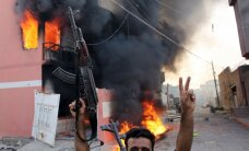Sīrijas kurdi no 'Daesh' atguvuši krituša Krievijas karavīra līķi