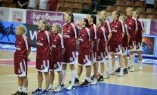 Latvijas basketbolistēm izšķirošā spēle EČ priekšsacīkstēs