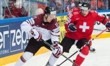 Latvijas hokejisti ar zaudējumu mača izskaņā noslēdz gatavošanos pasaules čempionātam