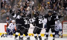 'Kings' iekļūst NHL Stenlija kausa izcīņas otrajā kārtā