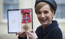 Britu aktrise Skota Tomasa iecelta Britu impērijas komandores kārtā
