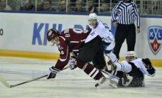 Rīgas 'Dinamo' neizmanto daudzos pretinieku noraidījumus un piedzīvo kārtējo zaudējumu