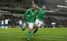 Ziemeļīrijas futbolisti pirmo reizi vēsturē kvalificējas Eiropas čempionāta finālturnīram