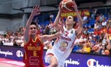 Čempione Spānija un Francija sasniedz Eiropas sieviešu basketbola čempionāta pusfinālu