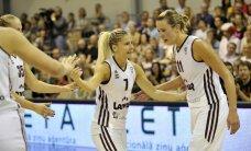 Latvijas basketbolistes turpina savu uzvaru gājienu EČ kvalifikācijā