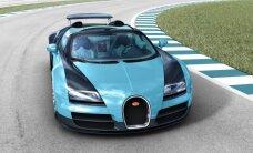 Jauna 'Bugatti Veyron' ekskluzīvā versija – ik pēc diviem mēnešiem