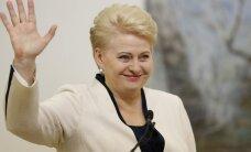 Lietuva pēc termināļa atklāšanas spēs izdzīvot bez Krievijas gāzes, paziņo Grībauskaite