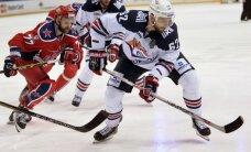 Magņitogorskas 'Metallurg' viesos pārspēj CSKA; panāk izlīdzinājumu Gagarina kausa finālsērijā