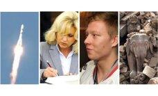 Kosmosā pazudis 'Progress', Saeimas deputātu rindas plok, meklē Ķēniņu un zemestrīces spēks