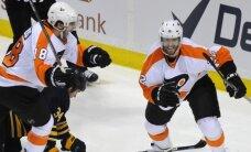 Bārtuļa 'Flyers' pagarina sēriju pret 'Sabres'