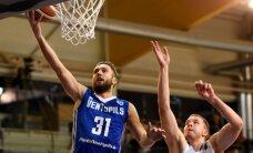 'Ventspils' basketbolisti pārliecinoši LBL mačā uzveic 'Ogre'/'Kumho Tyre'