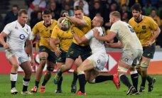 Anglijas regbisti atkal triumfē Austrālijā; Velsa otrreiz piekāpjas Jaunzēlandei