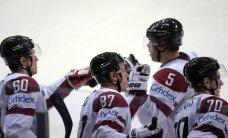 Latvijas hokeja izlase pret Somiju spēlēs teju nemainītā sastāvā