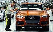 Uzsāk 'Audi Q3' ražošanu