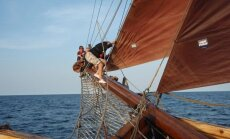 Rīgu sasnieguši pirmie 'The Tall Ships Races 2013' dalībnieki
