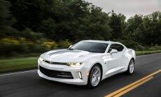 Jaunais 'Chevrolet Camaro' līdz 100 km/h paātrināsies četrās sekundēs