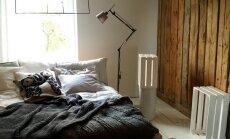Jauna telpa: noliktavas pārvērtības romantiskā lauku stila guļamistabā