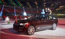 'Range Rover' speciāli karalienei