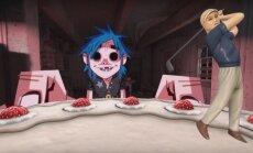 Noskaties! 'Gorillaz' publicē jaunas dziesmas un 360 grādu videoklipu