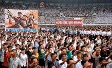 Ziemeļkorejā atceļ ikgadējo mītiņu pret 'ASV imperiālismu'