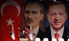 Turcija atsauc karavīrus no NATO mācībām; esot apvainots pats Erdogans un Ataturks