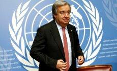 Генсек ООН поможет Израилю и палестинцам вернуться к диалогу