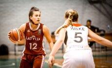 Latvijas U-16 basketbolistes mača nogalē izcīna devīto vietu Eiropas čempionātā kadetēm