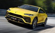 'Auto 2018' izstādē Ķīpsalā prezentēs pasaulē visātrāko apvidnieku 'Lamborghini Urus'