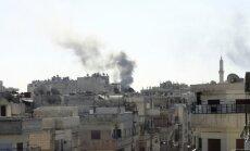СМИ: Россия наносит удары по оппозиции в Сирии; Путин назвал сроки операции