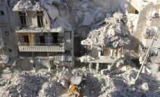 ASV, Francija un Lielbritānija nežēlīgās Alepo bombardēšanas dēļ pieprasa steidzamu ANO DP sanāksmi