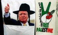 Tramps tomēr atlicis lēmumu par vēstniecības pārcelšanu uz Jeruzalemi