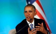 Obama bažīgs par Krievijas militārās klātbūtnes nostiprināšanos Eiropas ziemeļos