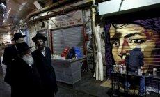 Jeruzalemes tirgus pārvēršas par ebreju mākslinieka rotaļlaukumu