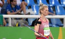 В финале метания копья рекордсменка Латвии не выстрелила