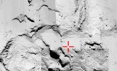 'Philae' nosūta jaunus datus no komētas; zondes akumulators nosēdies