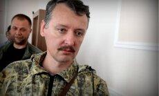 Neanektējot Doņecku un Luhansku, Putins pats kļuvis par ķīlnieku, paziņo terorists Girkins