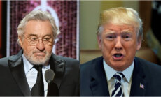 Tramps Robertu De Niro nosauc par indivīdu ar zemu IQ
