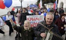 Путин в Крыму назвал строительство Керченского моста исторической миссией