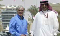 Eklstouns labprāt pagarinātu līgumu ar Bahreinas F-1 trasi