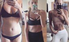 Фитнес-энтузиастка наглядно доказала, что вес не имеет значения