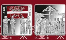 Latgales kongresam par godu Latvijas Banka izlaidīs piecu eiro kolekcijas monētu