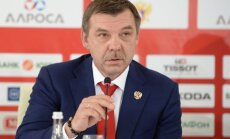 Head coach of the national team Oleg Znarok