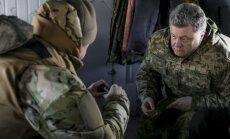 Krievija nepiedalīsies ANO miera misijā Ukrainā, uzsver Porošenko