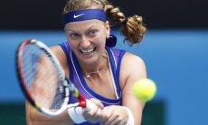 Pagājušā gada uzvarētāja Kvitova ar neveiksmi sāk WTA sezonas noslēguma turnīru