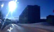 Video: Krievijas debesīs atkal uzplaiksnī meteorīts